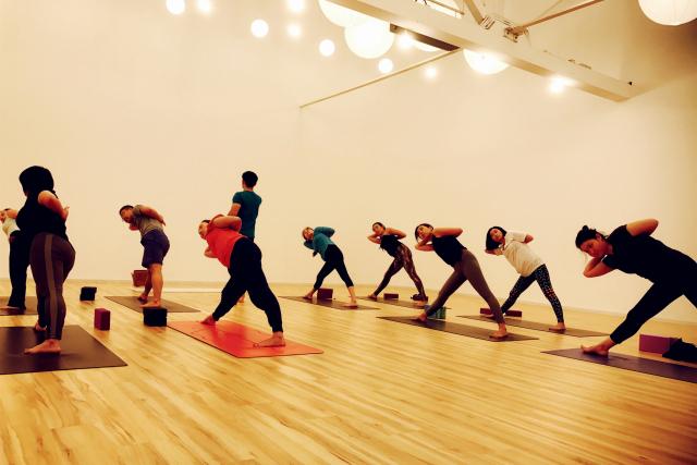 肩颈疗愈&元素流瑜伽公开课图片