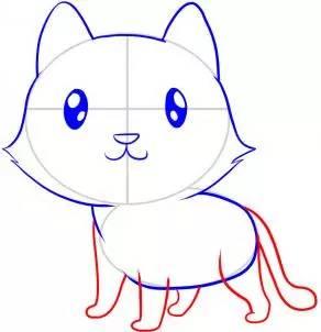 如何画小老虎 小老虎简笔画步骤图
