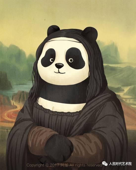 文化 正文  大熊猫本身那种憨态可爱的形象就深受世界人民的喜爱,尤其
