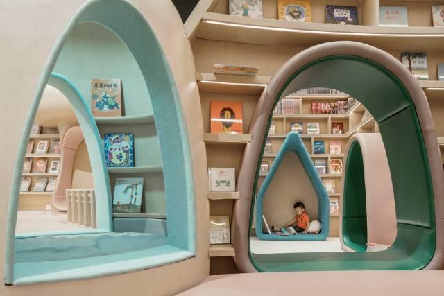 唯想国际李想设计新作—奈尔宝家庭中心:打造了一个真正的儿童乐园!