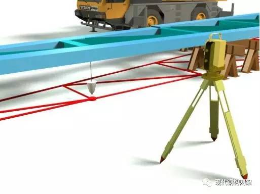 (三)大截面厚板H型钢制作  分析: 案例工程+20.9m的钢框梁为截面尺寸22005003440mm的H型钢构件,构件涉及最大板厚40mm,H型钢框梁腹板开洞,截面超过流水线规格要求,采用胎架拼装。构件的拼装焊接过程中如何保证构件精度及控制构件变形是案例工程的重点之一。 对策: 针对案例工程大截面H型钢制作采取以下措施保证构件制作精度及控制构件变形: 1、采用二氧化碳气体保护焊接构件,焊接过程中减小热输入,焊接过程中采取对称焊接,对长焊缝采取间歇焊确保构