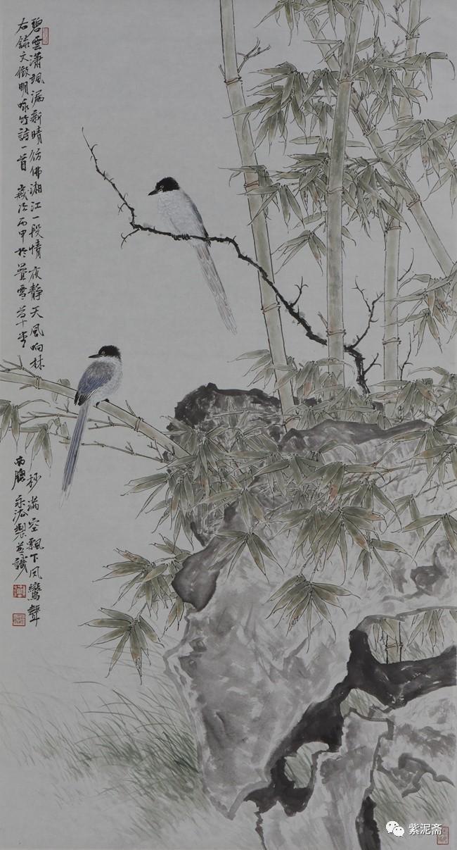 """英雄""""纪念建军九十周年暨 """"中国梦·美丽宿州""""第二届工笔画作品提名展"""