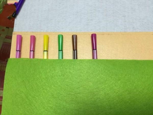 超简单实用的diy布艺笔袋制作图解