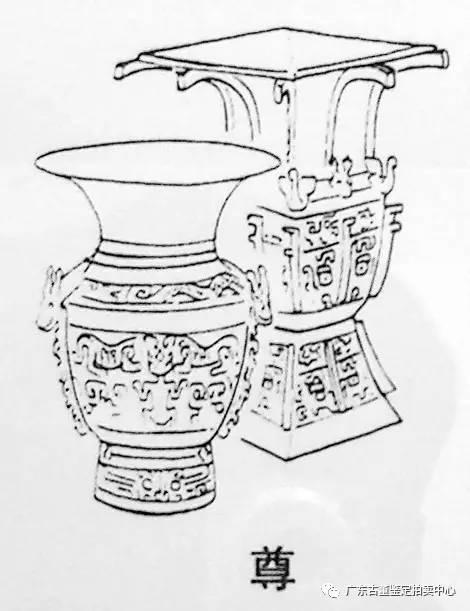 器皿简笔画图片大全-中国古代青铜器皿名称与器形
