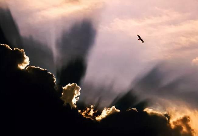 经典彩云矢量图