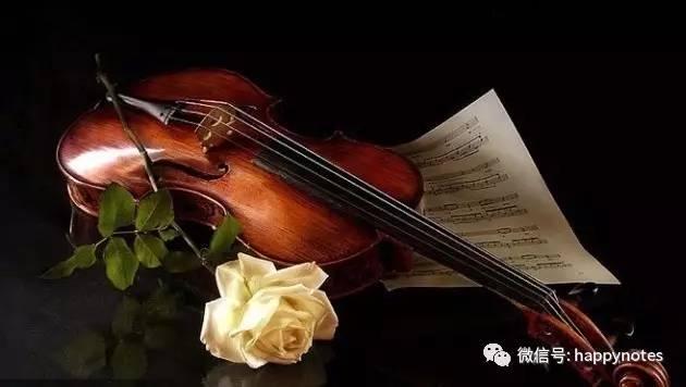 货分享 最全的小提琴乐谱常见符号