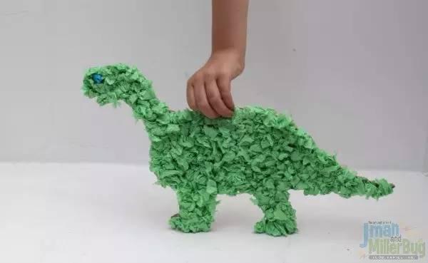幼儿园皱纹纸手工制作大全!美到爆!