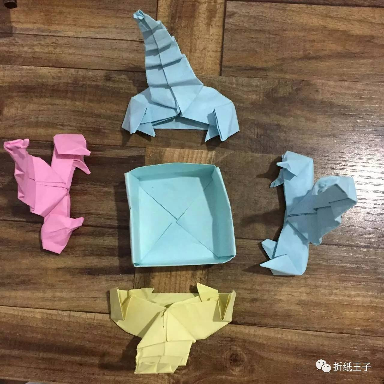 折纸王子学员作业展7.30