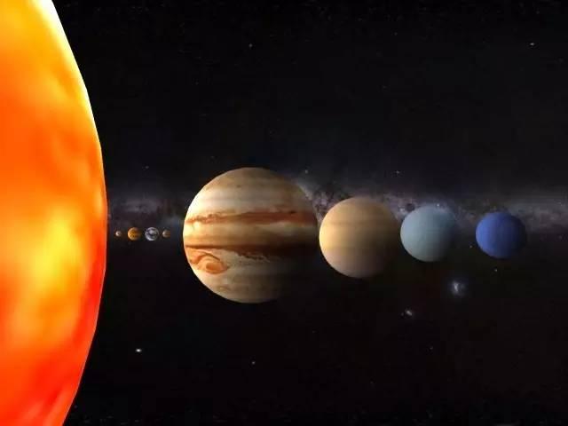 太阳系 八大行星