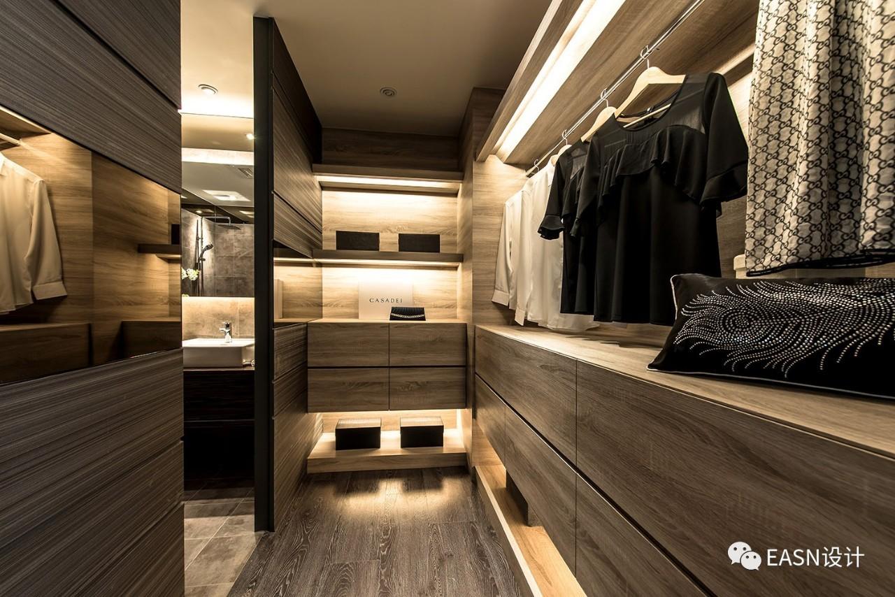 港式,台式风格的衣帽间,卧房,书房系列