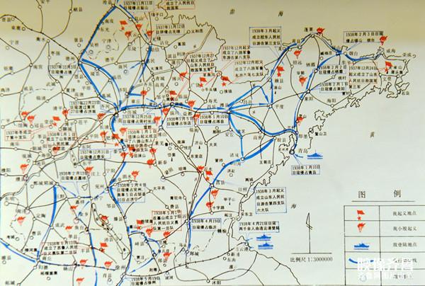 聊城八县市地图全图