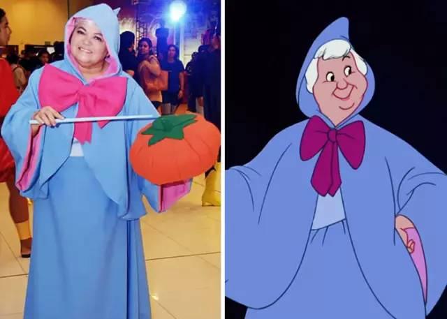 《灰姑娘》里的字幕教程premierepro教母仙女图片
