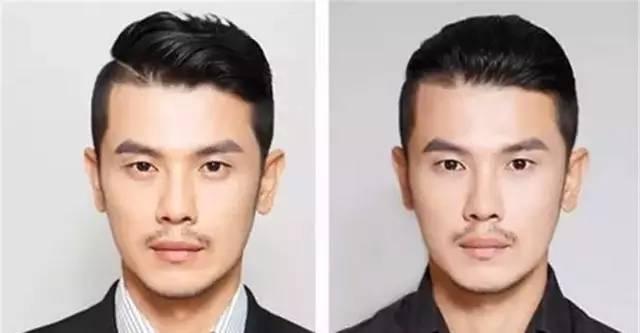 这样的发型更显得整个人成熟了不少 感觉平头真的是考验颜值的发型了图片