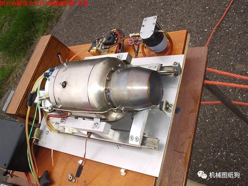 【发动机电机】gr130涡轮喷气发动机平面设计图纸 pdf