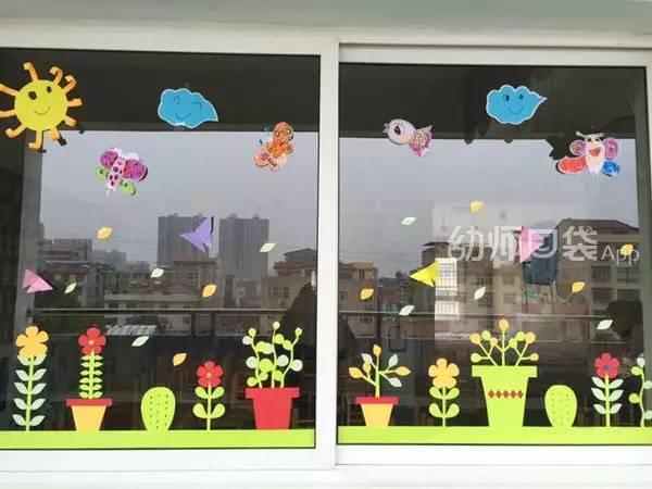 70张幼儿园最美窗户环创图片曝光,看完所有幼师都忍不