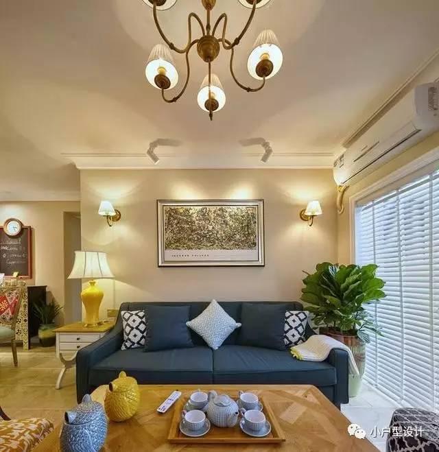 时尚 正文  这是一套74平的小户型房子,家里的装修是温馨的法式风格图片