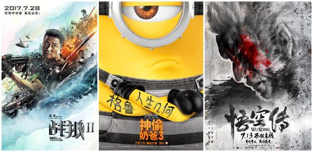《战狼2》月底救市 7月内地票房50亿超去年纪录