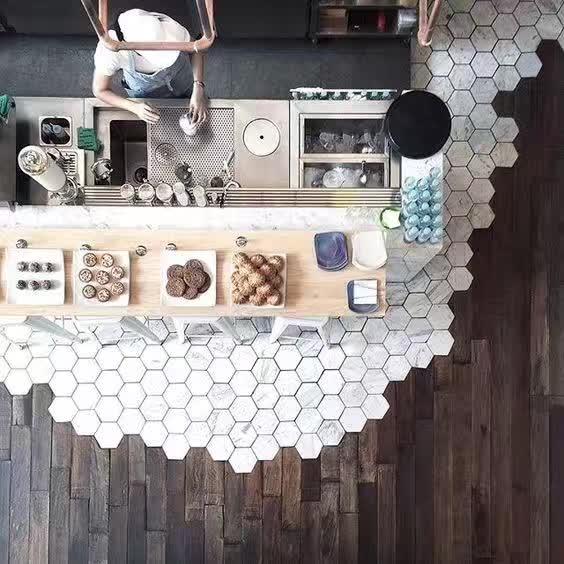 2018年最流行的地砖木地板铺贴效果图片