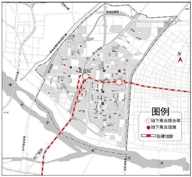 重磅 正定县城将建地铁 藁城 鹿泉 栾城这样规划