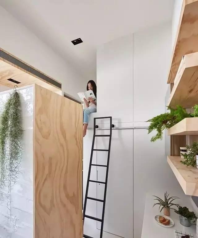 10平卧室爆改出厨卫厅封面,还送出储藏间,暴强v卧室广告设计空间图片