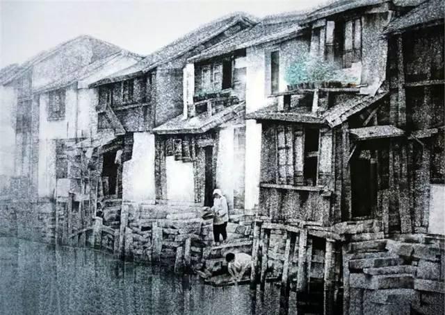 来自乡土的韵味 | 刘寿祥水彩_突袭文化_突袭网   1958年生,湖北美术图片