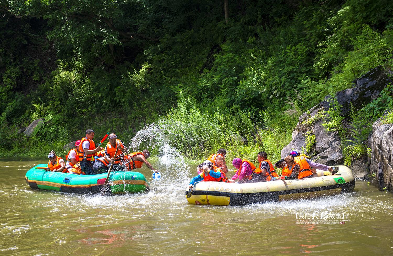 紅河谷漂流位于東北的國家aaaa級旅游景區,清原滿族自治縣紅河谷國家