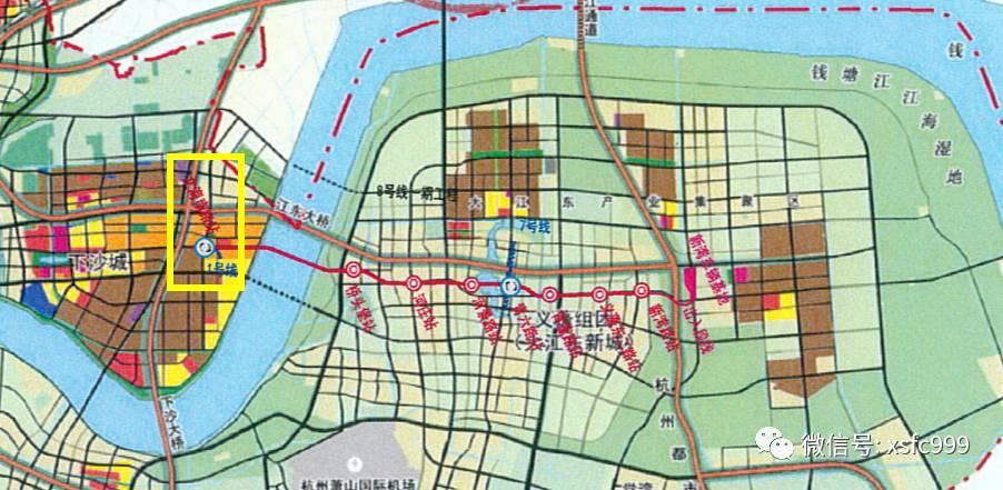 重磅 杭州地铁规划,下沙或新增一个站点