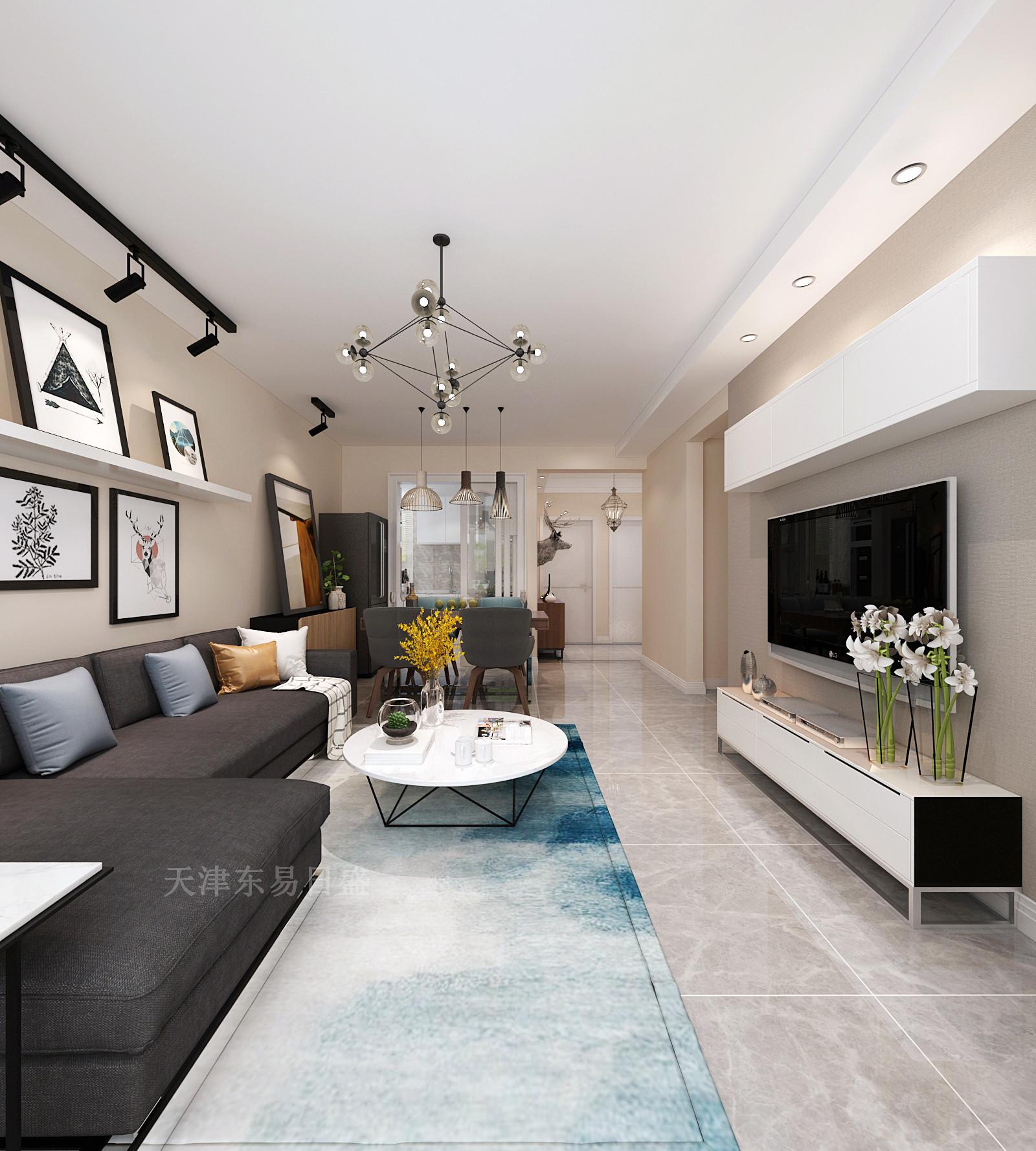 98平北欧风格三室装修,自然的舒适,干净之美!