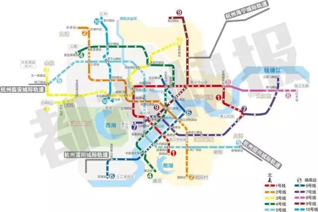 重磅 杭州地铁8号线或将规划浙江工商大学站 下沙交通更便捷