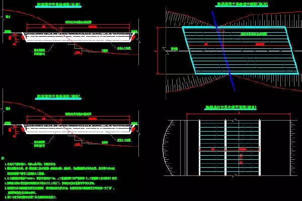 三 隧道工程施工图识读之平面图/纵断图/洞口图/衬砌图及机电预埋图