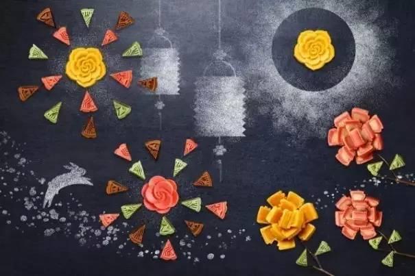 月饼变成画了 还记的去年星巴克的月饼画吗?图片