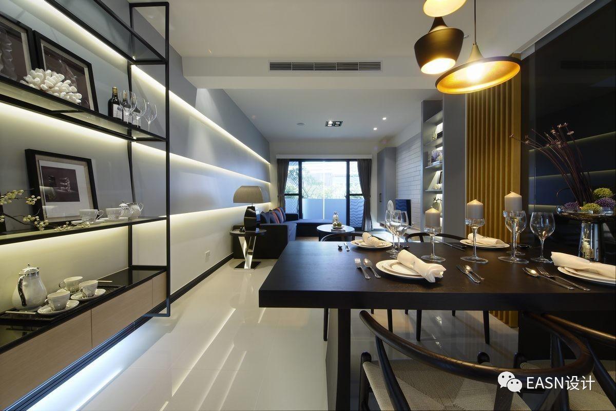 港式,台式风格的餐厅,客厅系列(装饰背景墙)图片