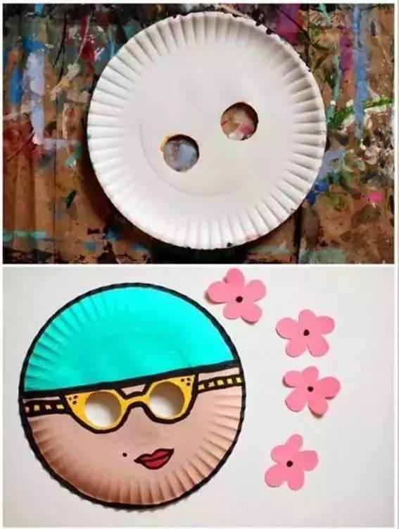 纸盘手工制作大全,太漂亮!带着孩子做起来(附教程)