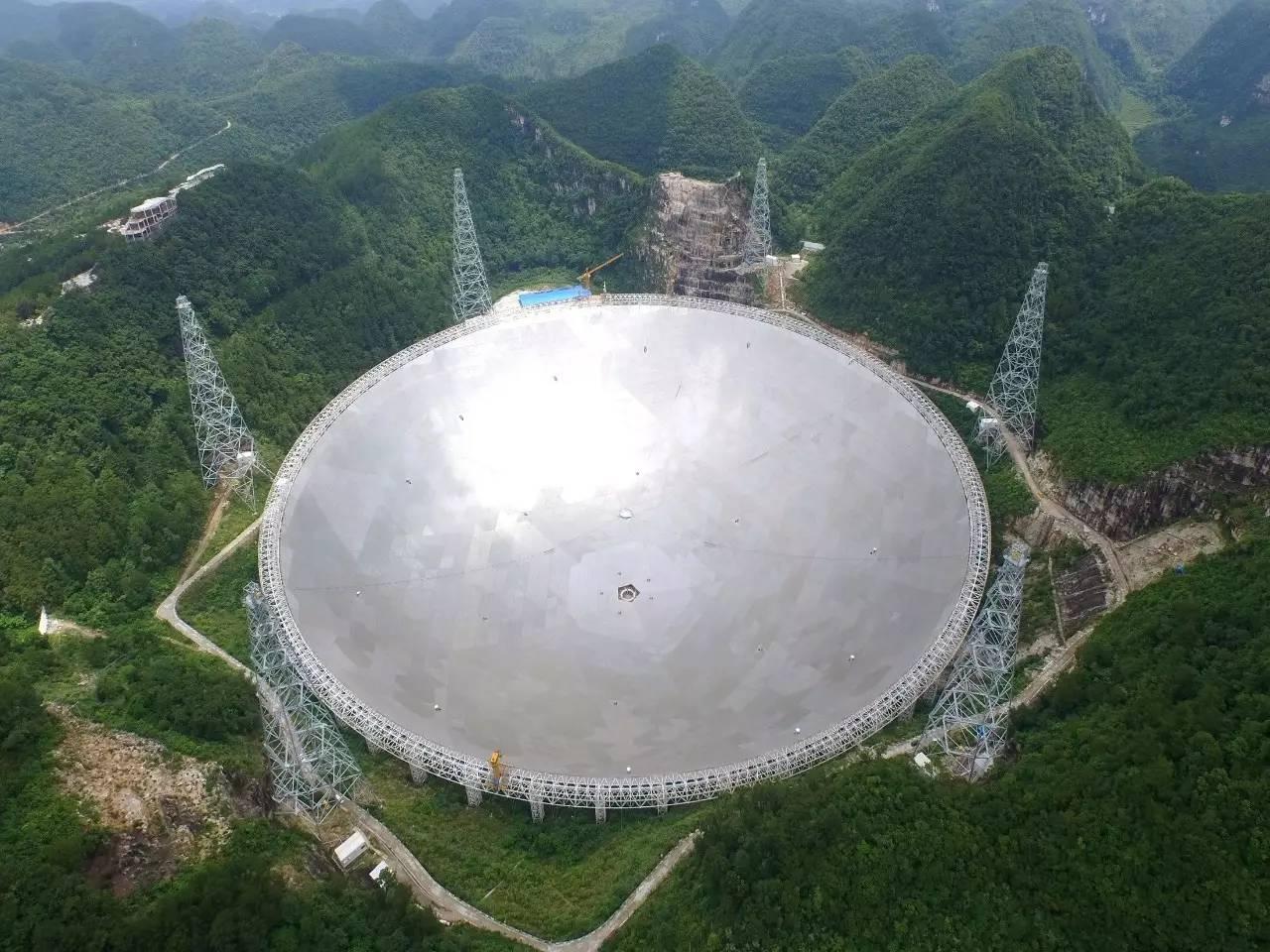 游客喧闹或影响中国 天眼 寻找外星人