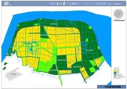 5 2030大江东新城分区规划环评公示,临江区块部分区域需要进一