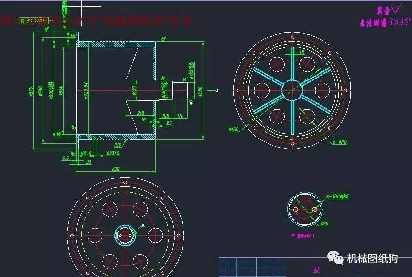 【工程机械】saq卷扬机设计图纸 三维solidworks及平面cad格式