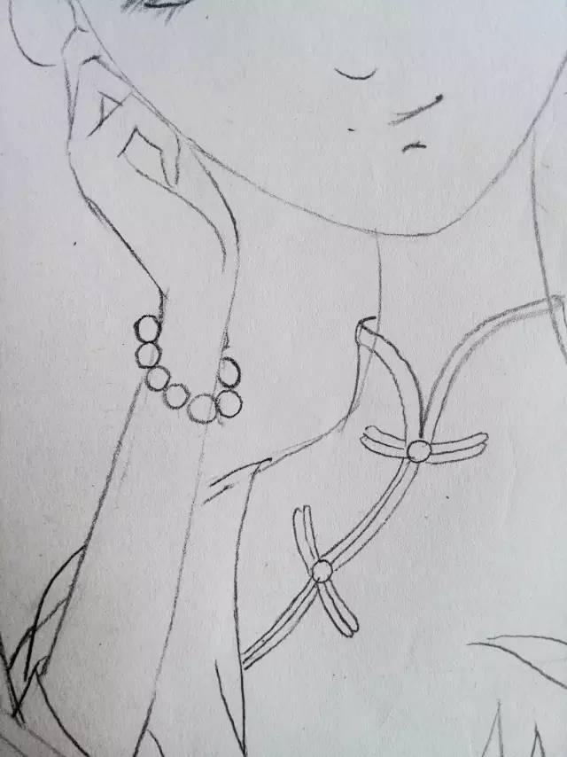 简笔画 手绘 素描 线稿 640_854 竖版 竖屏
