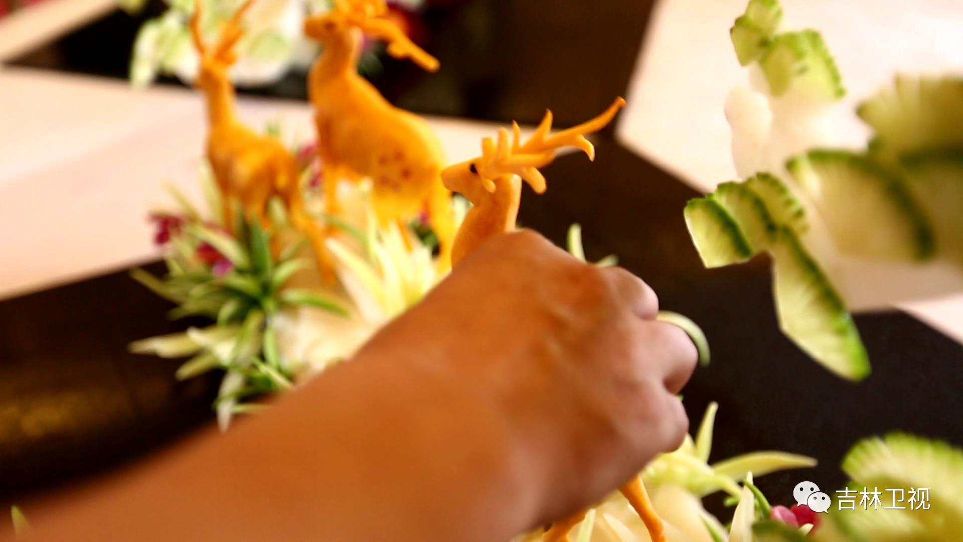 厨房里的魔法师 首届吉林省十大工匠,食雕厨师徐吉生