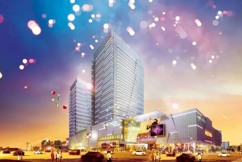 吾悦广场要打造成即墨首席一站式购物体验新地标,感觉跟大悦城很类似