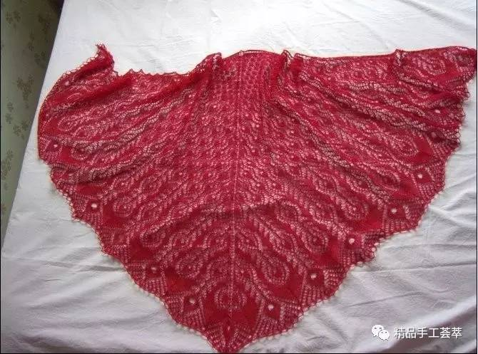 粗针细线围巾织法图解