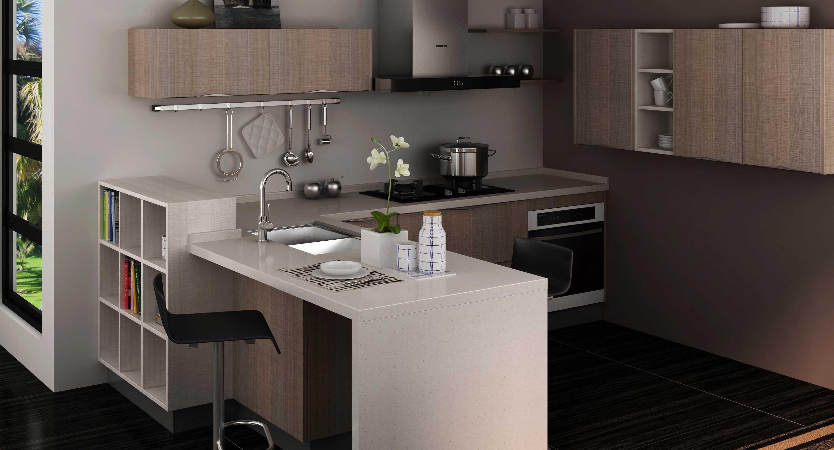 花岗岩做的厨房台面,您喜欢吗_长沙装修_新浪博客