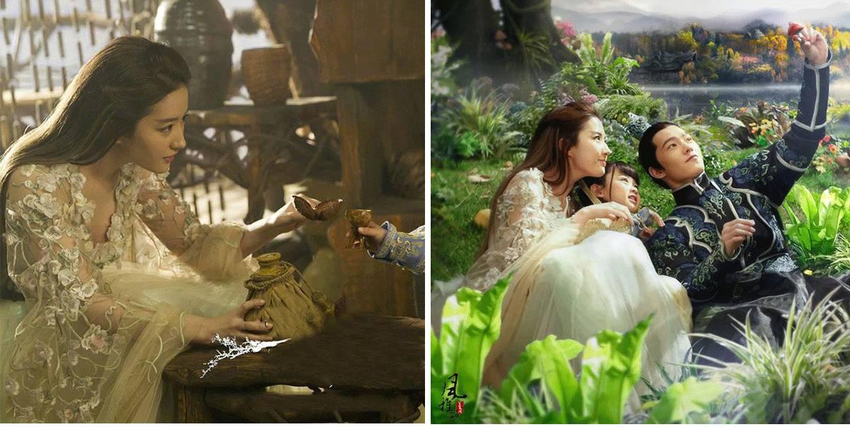 视频还没开播前刘亦菲在秘密的长裙高端已经火遍时装界了华丽剧中刺绣韩国电影完整版在线观看电影图片