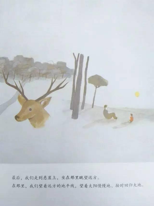 《和爸爸一起散步》内页分享 在线观看-第5张图片-58绘本网-专注儿童绘本批发销售。