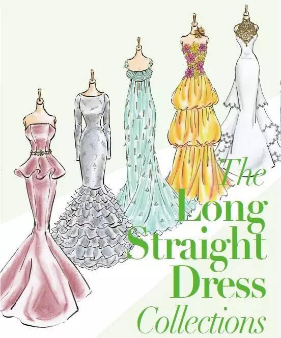 《时装画手绘表现技法:画出优雅礼服》 人民邮电出版社出版 返回搜