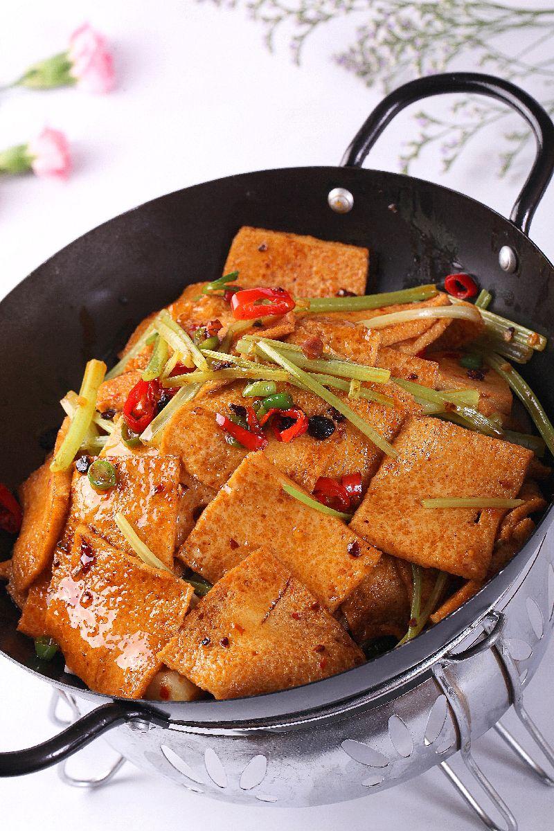 干锅腊味千叶豆腐