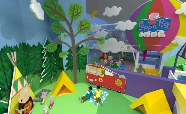 都小猪佩奇主题游乐场来了.70 游览区免费玩