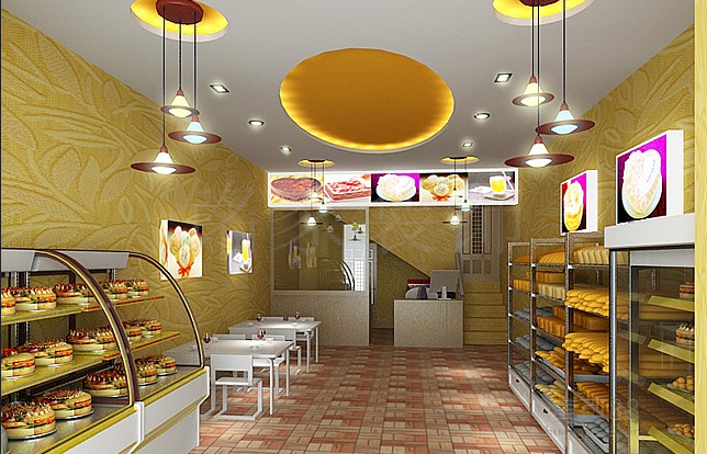 房产 正文  蛋糕店一定要明确装修风格,浪漫奢华的欧式风格,或简约