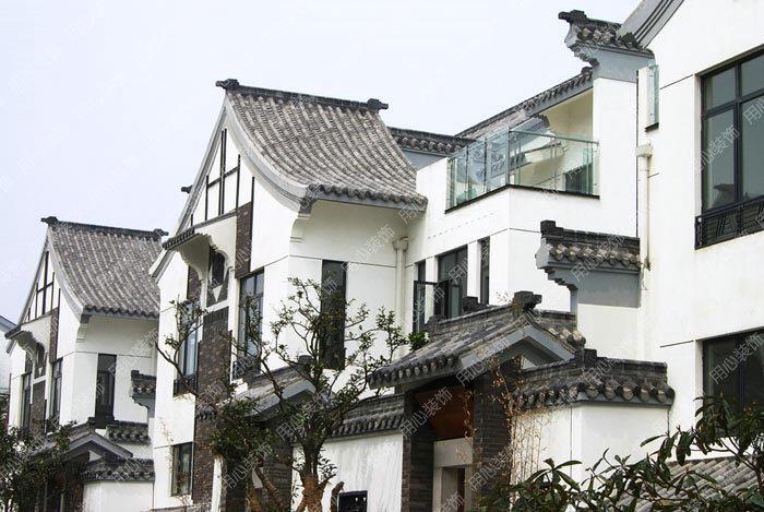 欧式建筑装饰构件  第一,可生产欧式罗马柱,檐线,腰线,门套,窗套,山