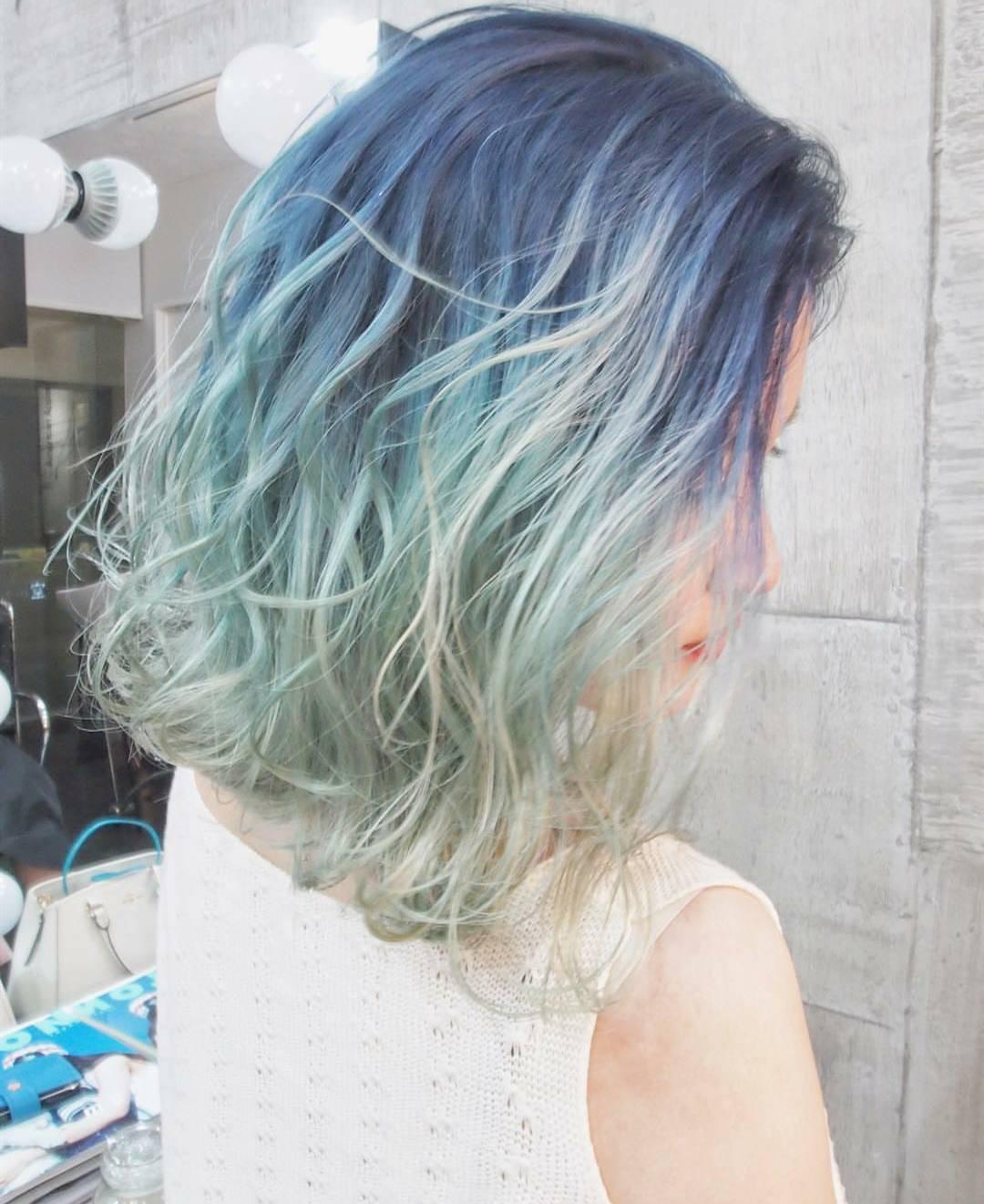 发型欣赏——美美哒组合挑染