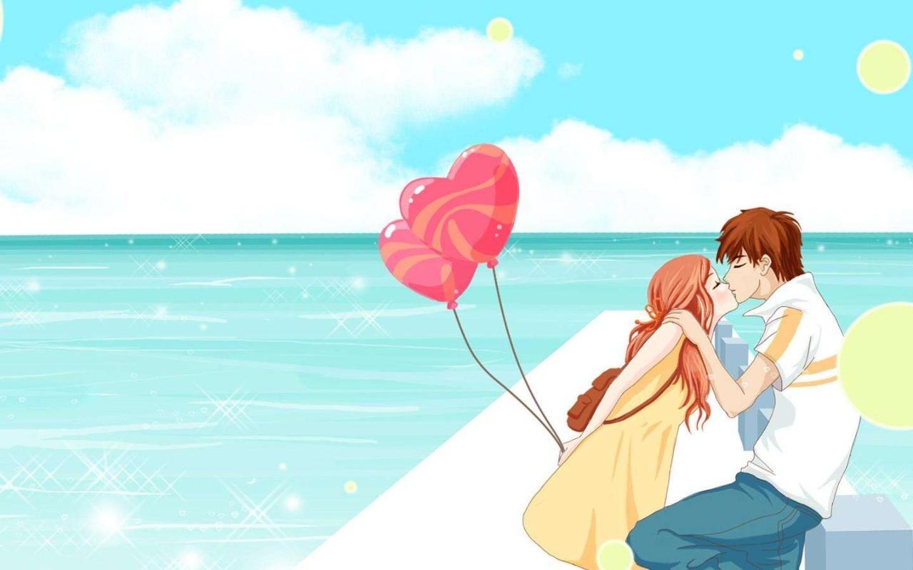 表达爱情的手绘图片